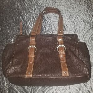 Coach Pebble Leather handbag (original)